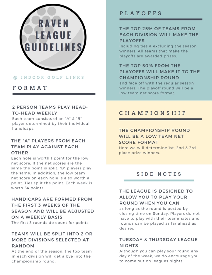 2018 LEAGUE GUIDELINES FINAL